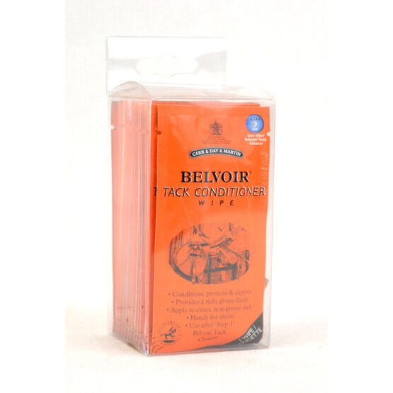 Belvoir Tack Conditioner Wipe - 15 Wipes