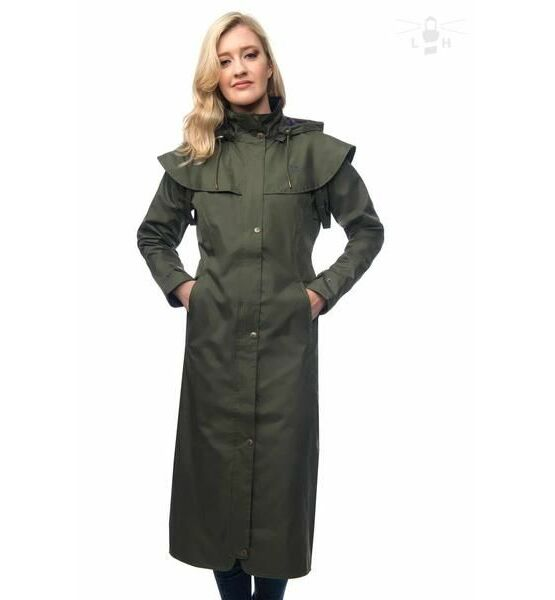 Target dry green coat