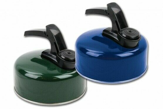 Highlander Small Aluminium Whistling Kettle - Dark Navy