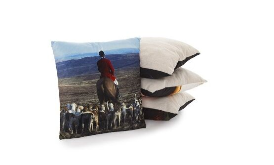 Country Matters Soft touch cushion - Hounds & Master