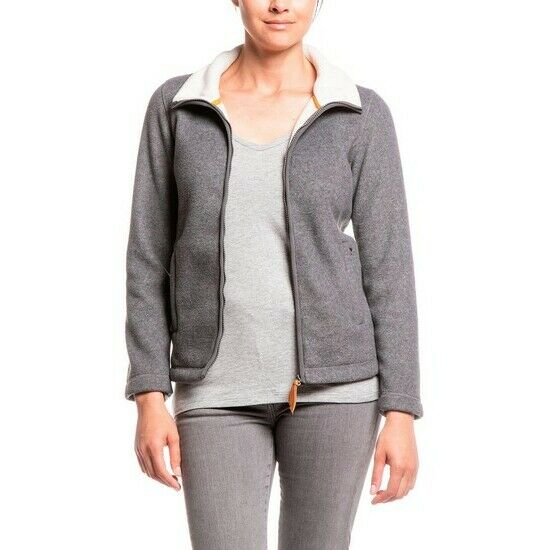 Aigle Azerio Grey Natural Fleece Jacket