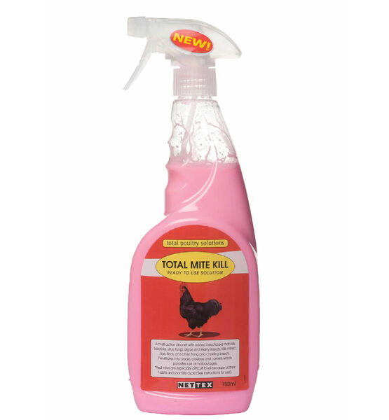 Nettex Total Mite Kill Ready To Use Poultry Spray