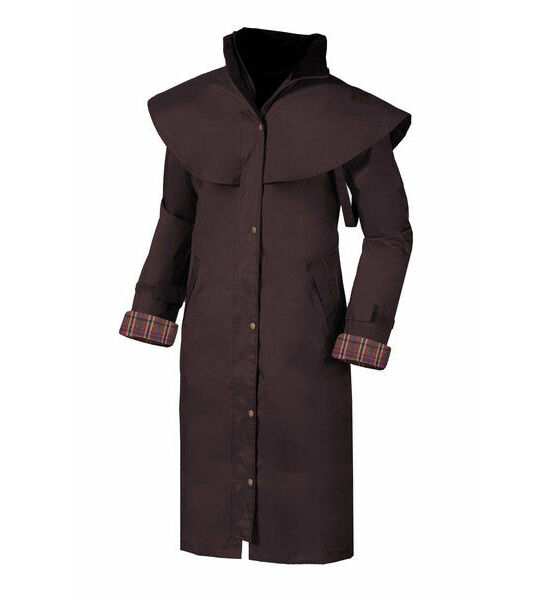 Target Dry Ladies Outback Full Length Coat - Chocolate