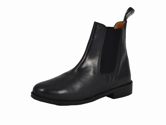 Toggi OTTOWA Black Leather Jodhpur Boots