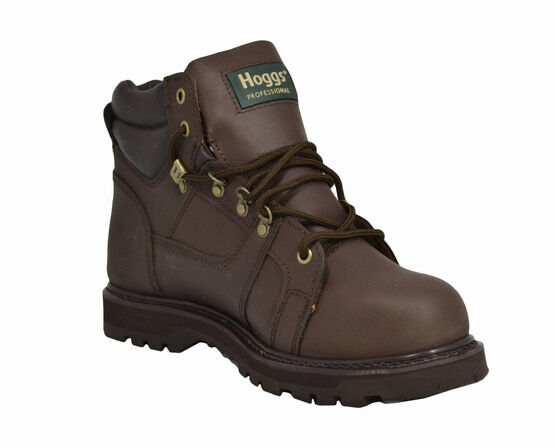 Hoggs of Fife Typhoon WSL - Brown Mid-Weight Waterproof Safety Boots